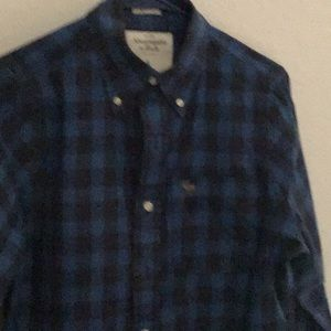 Abercrombie Mens Long Sleeve Shirt